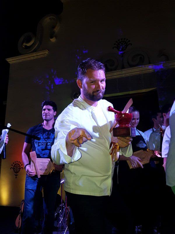 Chef Vincent Wallez, Chef ejecutivo del hotel Andaz de Mayakoba en Playa del Carmen