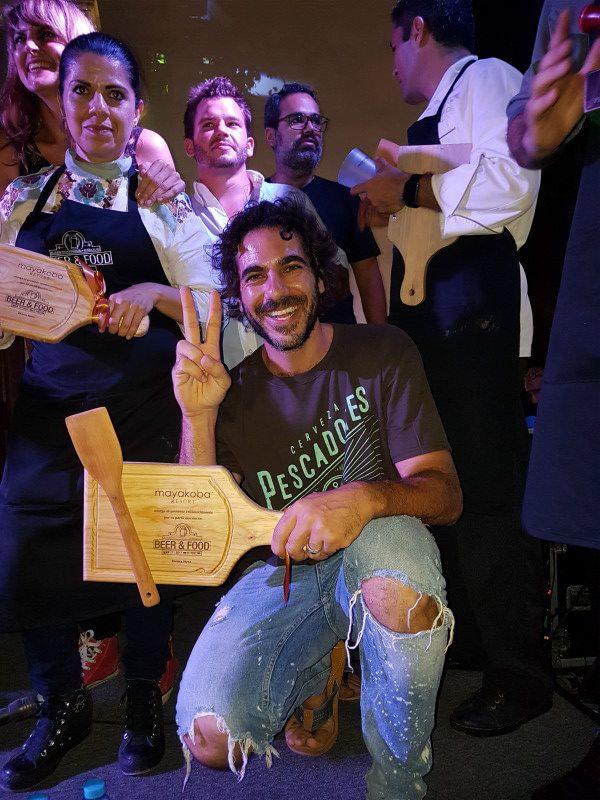 Luciano Seri, fundador de Cerveza Pescadores