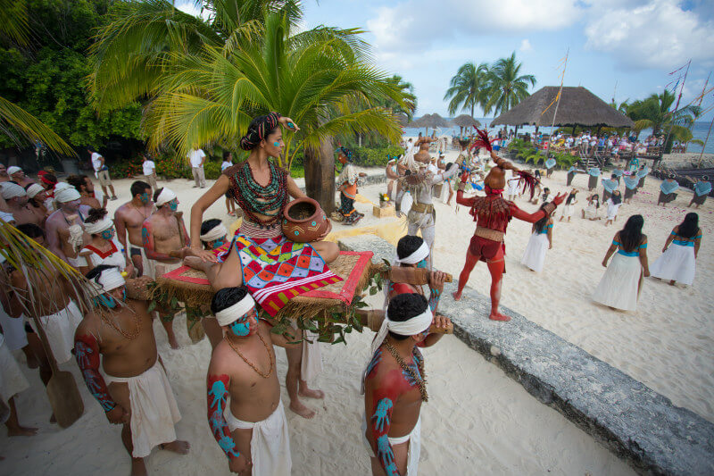 Travesia Sagrada Maya ritual de la diosa Ixchel
