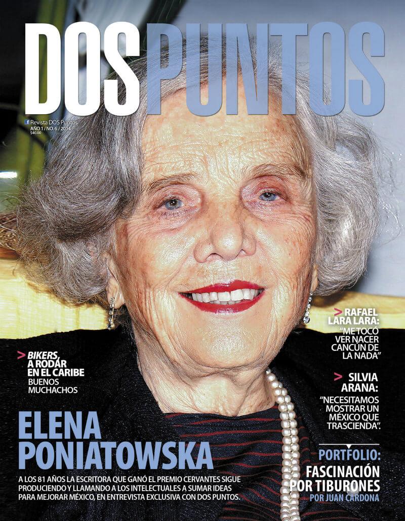 Entrevista con Elena Poniatowska para Dos Puntos Revista Quintana Roo