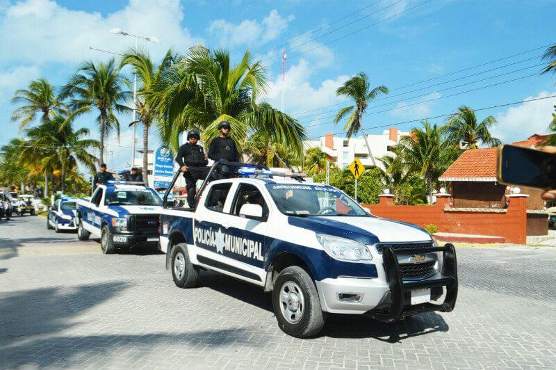 Seguridad pública vigila Isla Mujeres