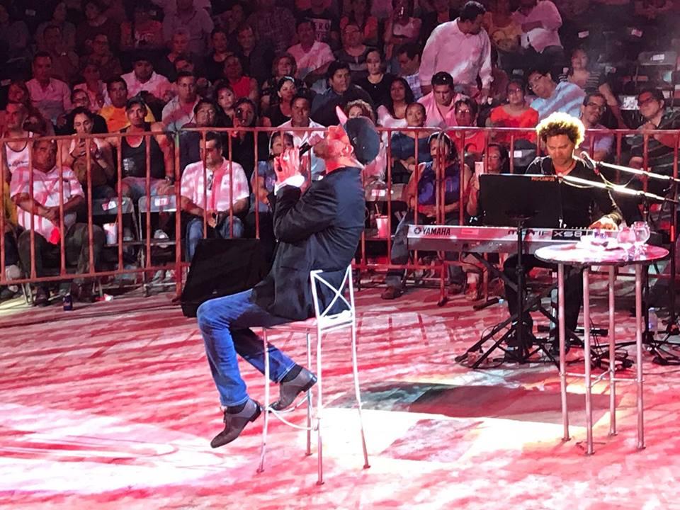 Concierto Julio Baró en Cancún, México