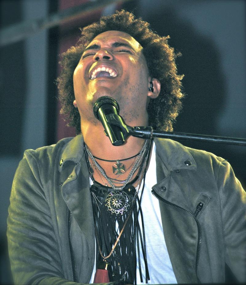 Julio Baró en concierto en México