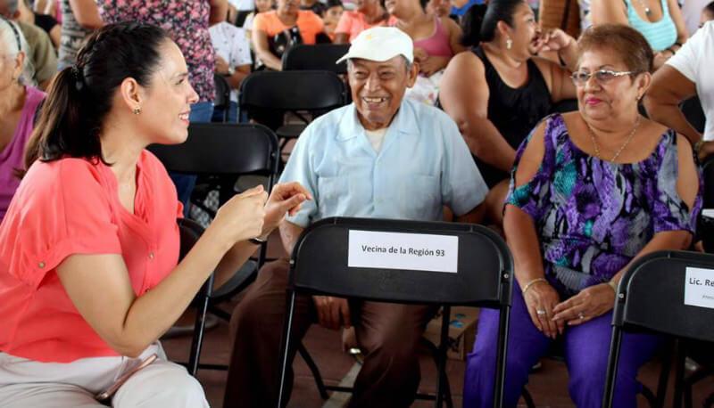 Berenice Polanco, regidora de Benito Juarez en Cancún, México