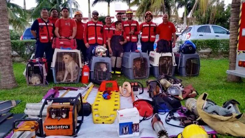 Grupo de rescate Topos cancún