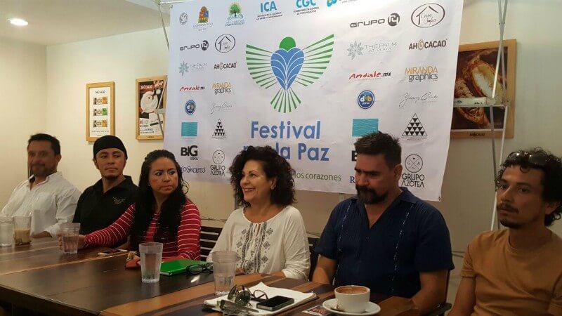 Conferencia de prensa del festival por la paz
