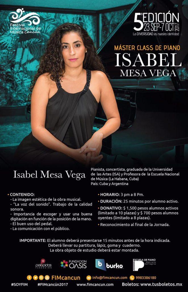 Masterclass de Isabel Mesa