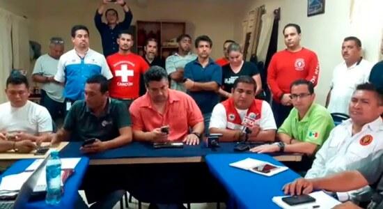 reunión de Topos cancún