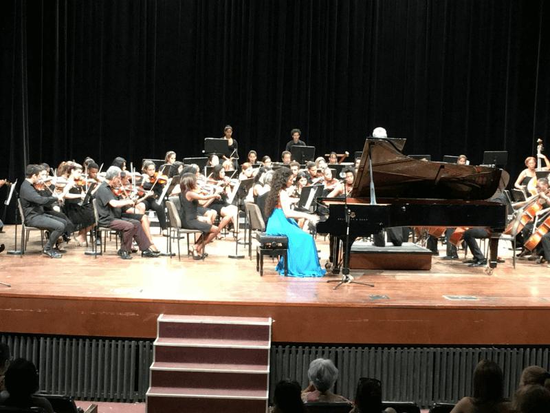 Vega Mesa en concierto