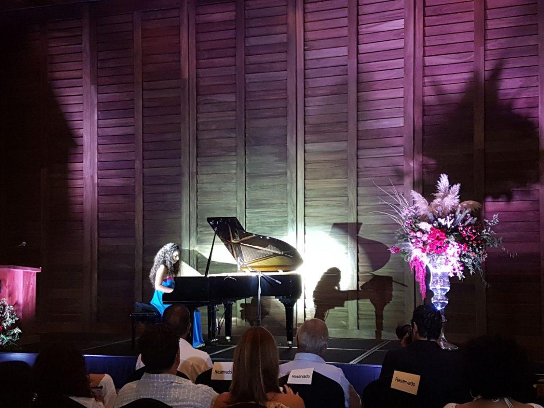 Pianista en concierto