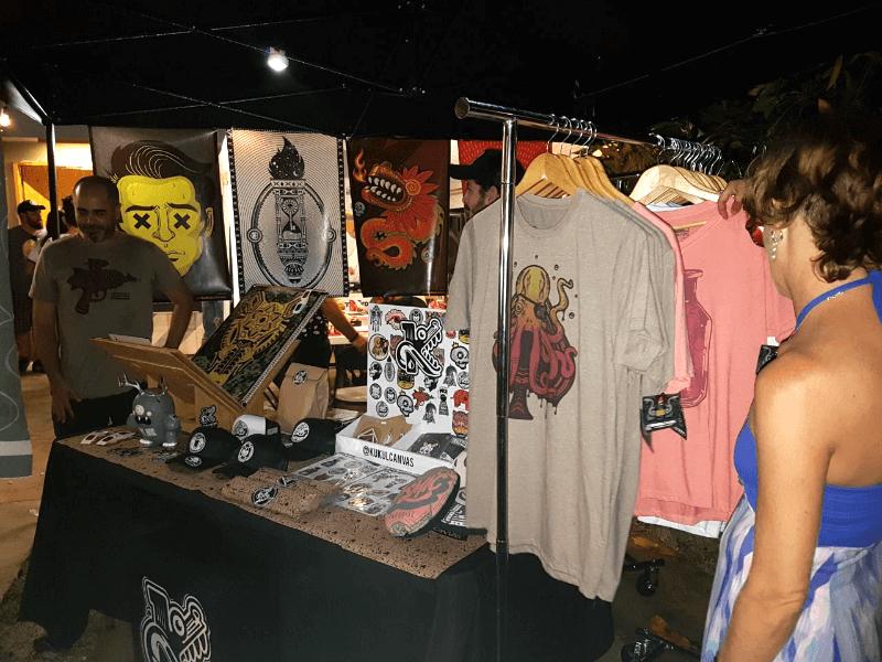 stand y productos de kukulcanvas