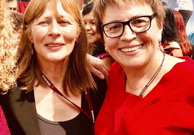 """Demos el cambio con Laura Beristain en Solidaridad"""", Tatiana Clouthier"""