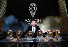 Messi presume su sexto balón de oro. El jugador más galardonado con este premio