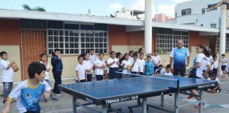 Gobierno de isleño organiza y fomenta el tenis de mesa entre los niños de la isla