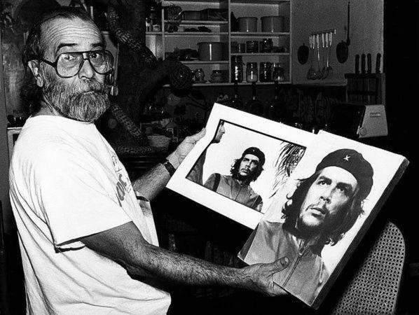 El fotógrafo Alberto Díaz conocido mayormente como Korda y la gran foto tomada al Che