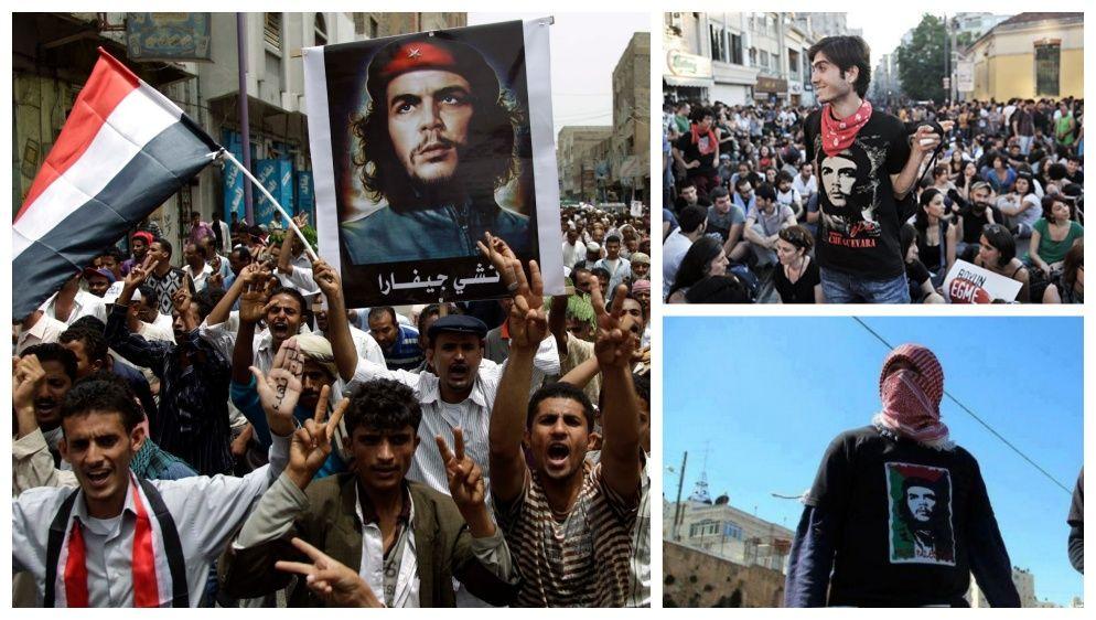 Imagen del Che Guevara convertida en símbolo de libertad y revolución a nivel mundial