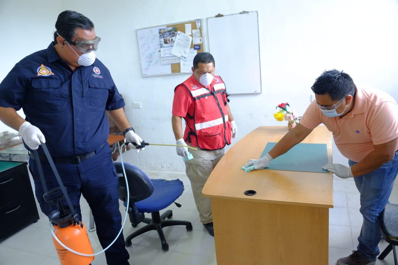 Las autoridades de Isla Mujeres unen fuerzas para prevenir y mantener fuera el virus Covid-19