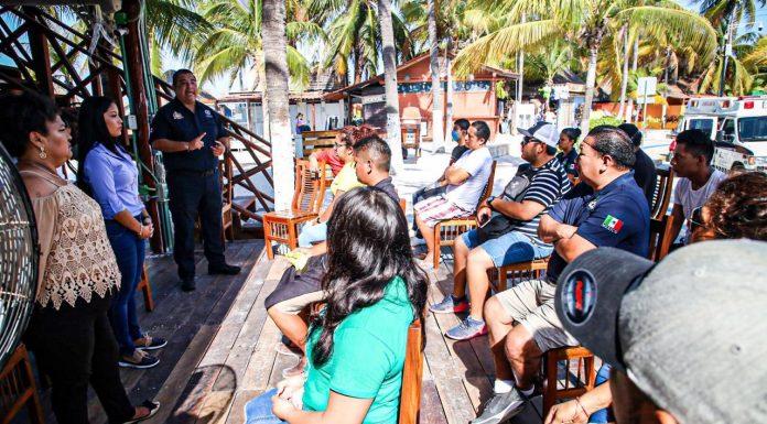 El gobierno de Isla Mujeres se compromete con el cuidado y prevención del Covid-19