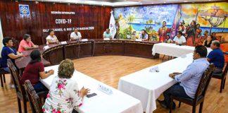 Presidente municipal y funcionarios de Isla Mujeres donarán gran parte de su salario para ayudar a los isleños en tiempos de Covid-19