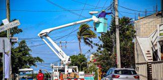 """""""Se han reparado cerca de 2 kilómetros de cableado que se habían deteriorado por las inclemencias del tiempo"""""""