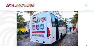 """El presidente municipal Juan Carrillo inician campaña """"Amo Isla Mujeres"""" para promover la reactivación económica gradual"""