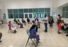 """el gobierno de Isla Mujeres que encabeza Juan Carrillo Soberanis, contribuye para que el pago del programa """"Pensión para el Bienestar de los Adultos Mayores"""""""