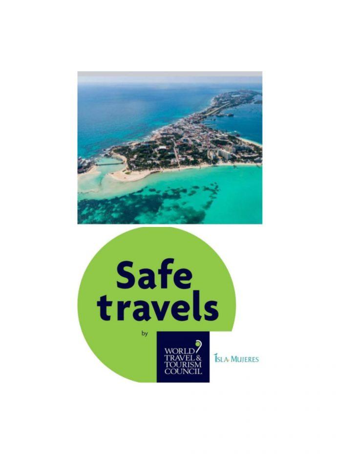 La Sedetur entrega a Isla Mujeres el Global Safety Stamp por mantener seguros a los turistas con las medidas de higiene y limpieza que implementa el ayuntamiento