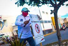 Se colocaron letreros en Isla Mujeres para sensibilizar a la población sobre la importancia de mantener limpio el municipio