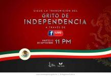 El presidente municipal Juan Carrillo Soberanis dará el Grito sin publico y se transmitirá por Facebook desde la cuenta oficial del gobierno de Isla Mujeres